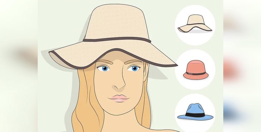 انتخاب کلاه برای صورت های کشیده