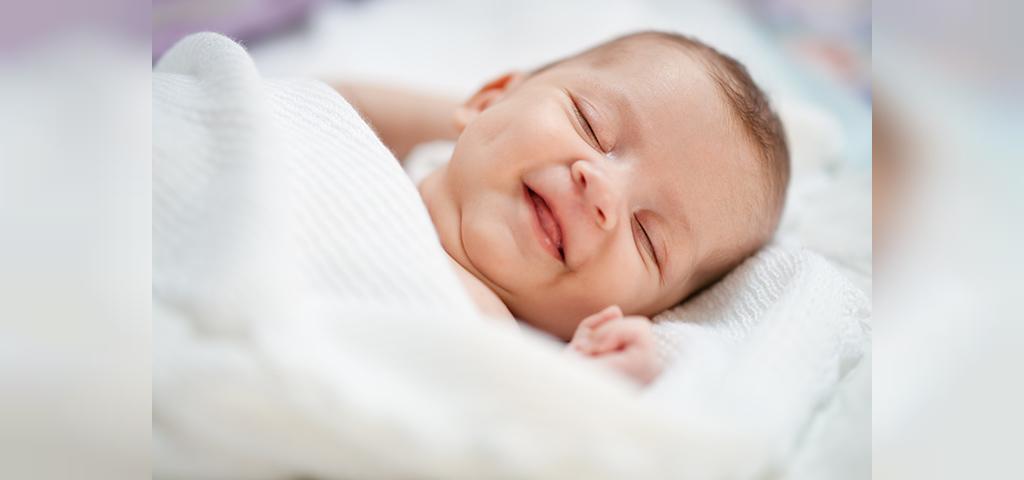 زمان لبخند نوزادان، از واقعیت های شگفت انگیز