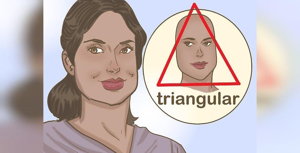 روش تشخیص صورت مثلثی شکل