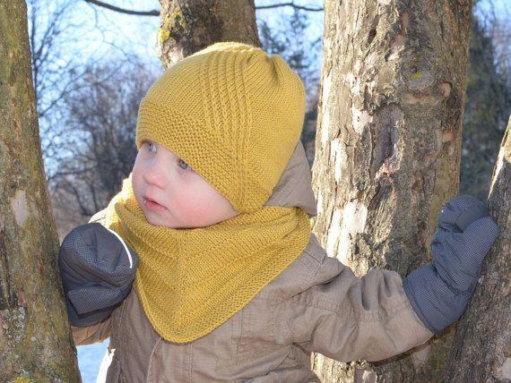 مدل کلاه بافت پسرانه ساده و شیک