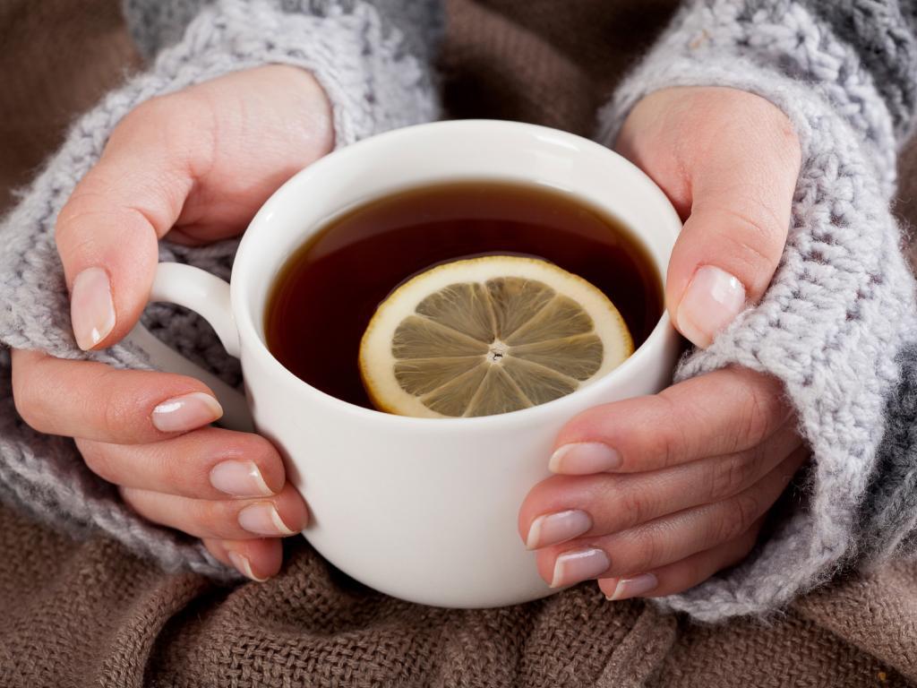 چای لیمو برای سرماخوردگی