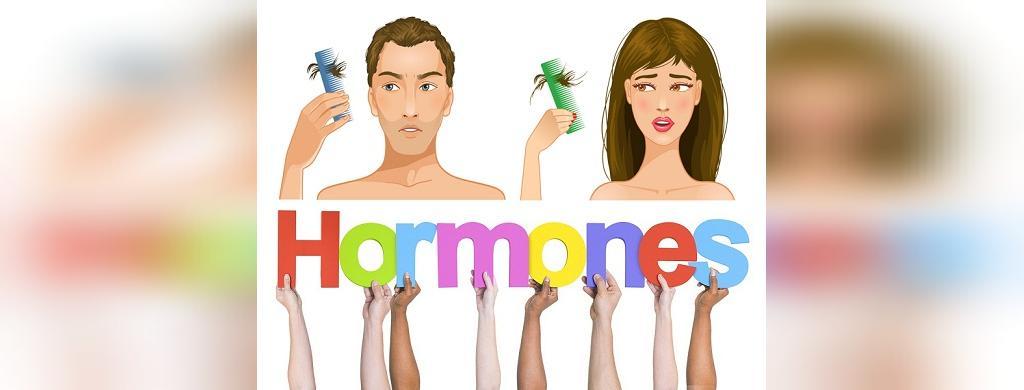 ریزش مو به دلیل تغییرات هورمونی