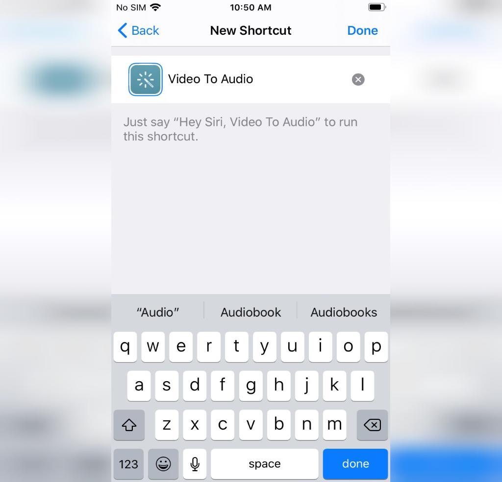 تبدیل ویدیو به MP3 با استفاده از Shortcuts