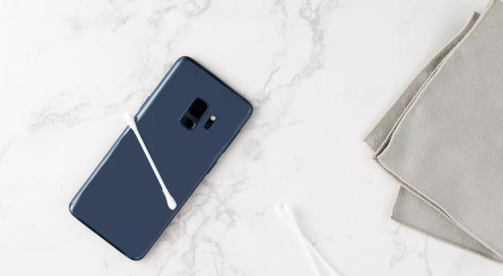 روش تمیز کردن نواحی کوچک تلفن همراه