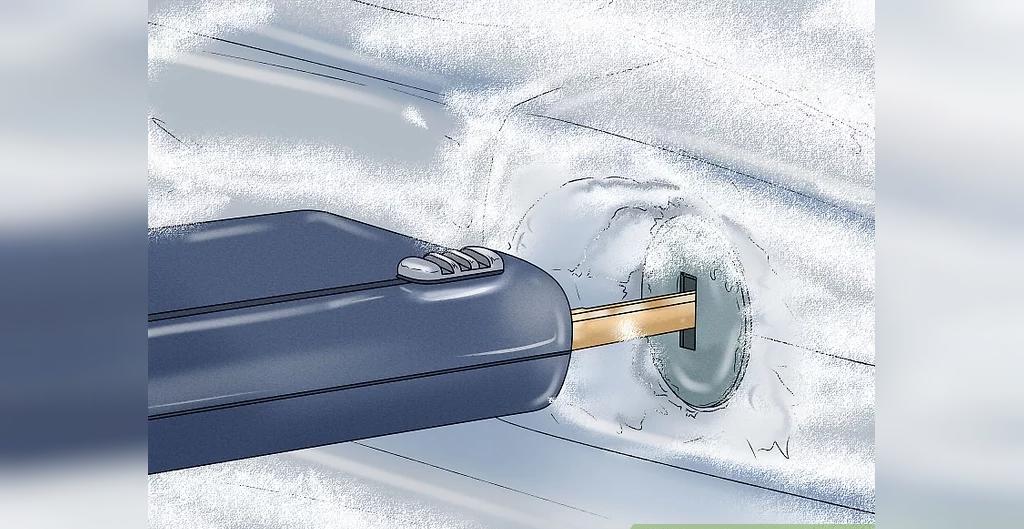 باز کردن یخ شیشه و قفل ماشین