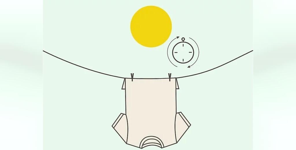 پرتوهای نور خورشید برای کم رنگ تر کردن لکه های سوختگی