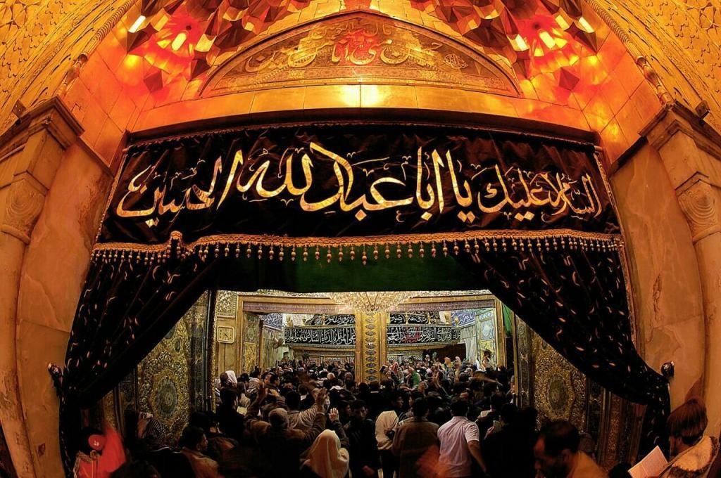 عکس ضریح امام حسین برای پروفایل