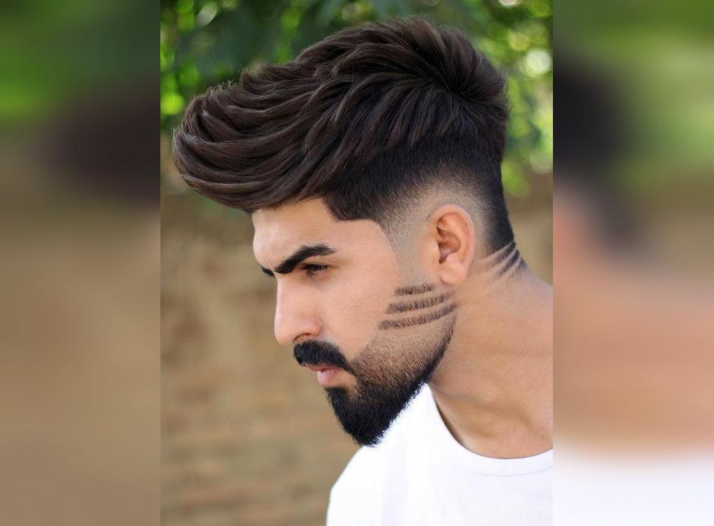 مدل موی خامه ای سایه دار