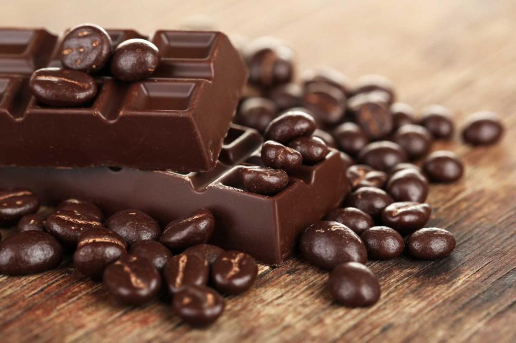 شکلات تلخ منبع آهن بدن