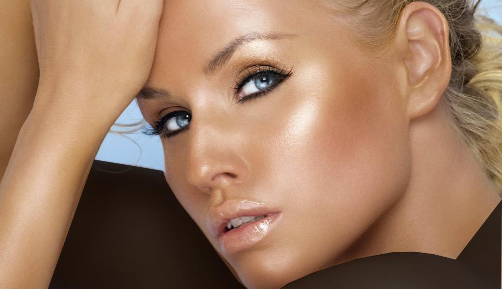 آرایش صورت با پوست گندمی