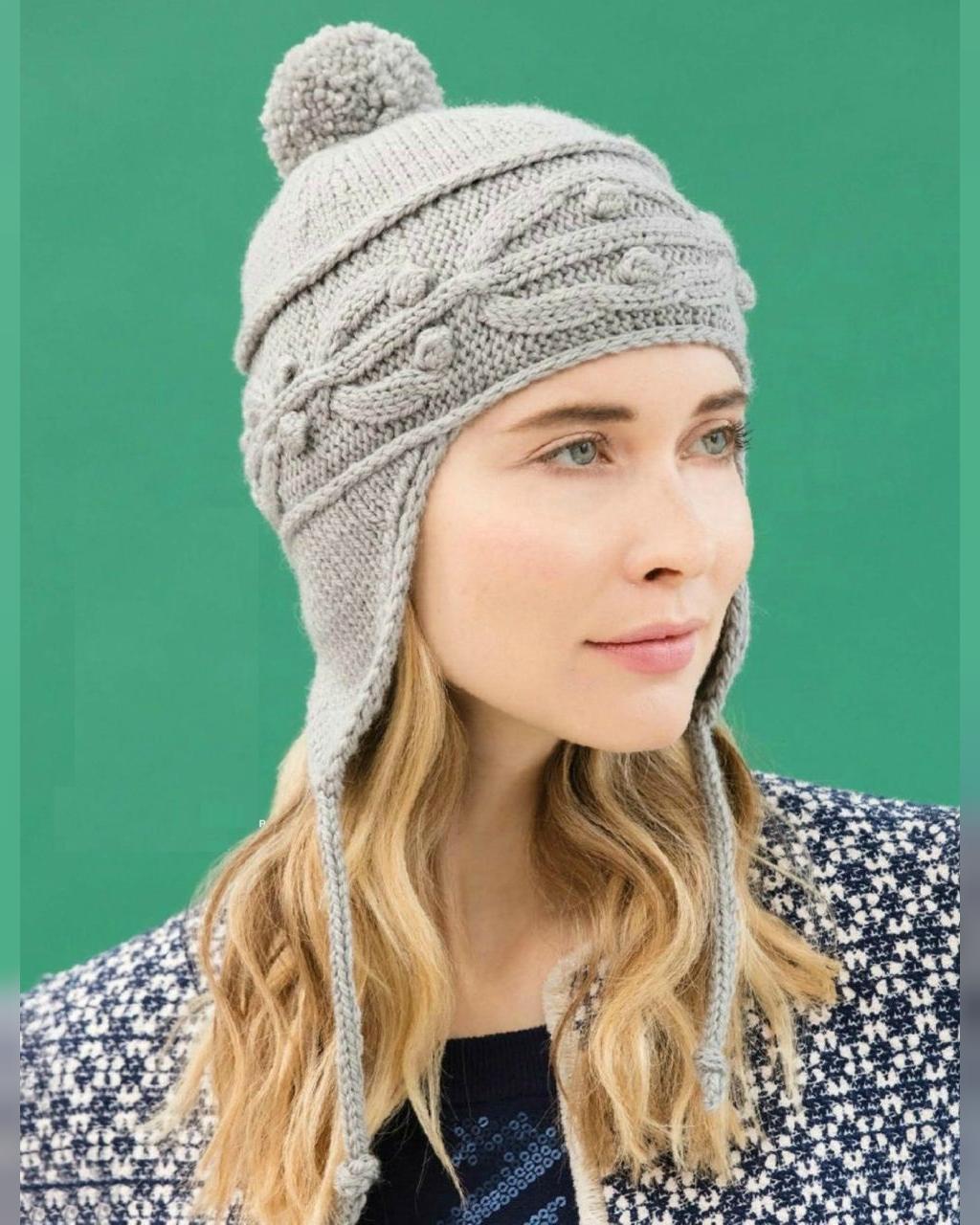 مدل کلاه بافتنی زنانه اسپرت