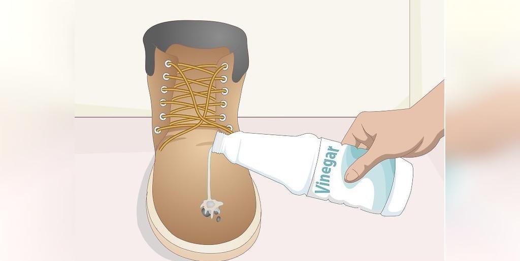 راه از بین بردن لکه های سخت از روی کفش های نبوک و جیر