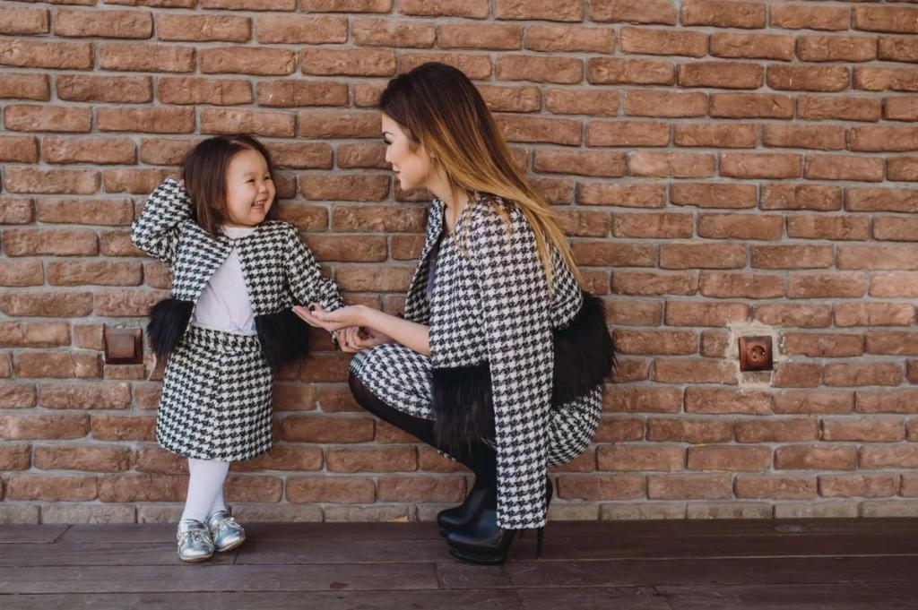 ست لباس مادر و دختر: ست کت و دامن