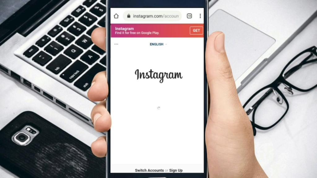 حذف اکانت اینستاگرام از گوشی