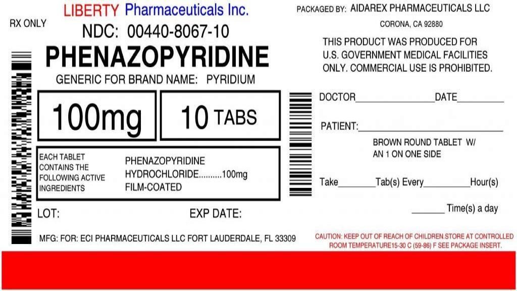 فنازوپیریدین؛ کاربرد ها، عوارض جانبی و تداخلات دارویی احتمالی