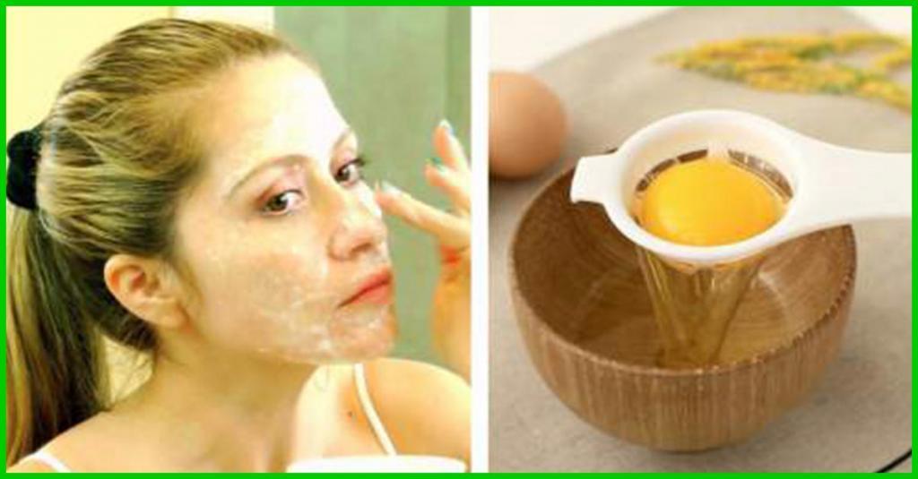 درمان سریع جوش با ماسک سفیده تخم مرغ