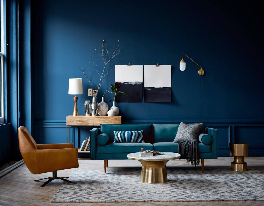 رنگ آبی نشان دهنده راحتی، آسودگی و آرامش است
