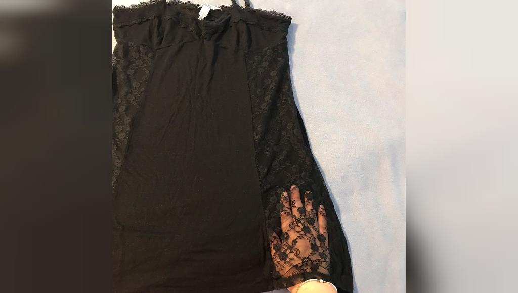 Jennifer Lopez Nightgown with Lace front/sides جنیفر لوپز