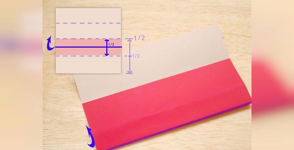 مراحل ساخت گل رز با کاغذ