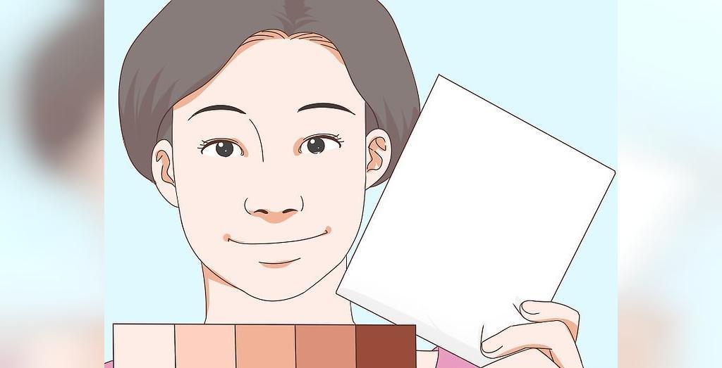 روش تشخیص رنگ پوست با استفاده از کاغذ