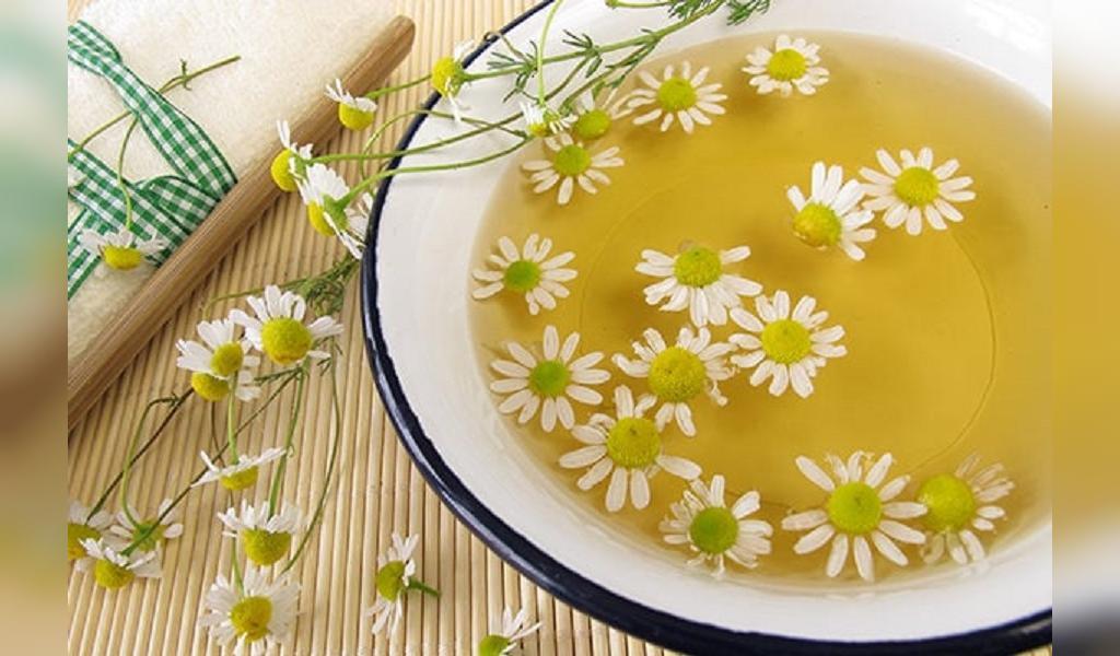درمان طبیعی آبله مرغان با چای بابونه