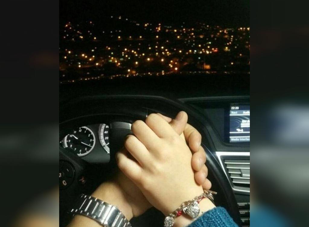 زیباترین عکس ست دختر و پسر برای پروفایل دست در دست هم داخل ماشین