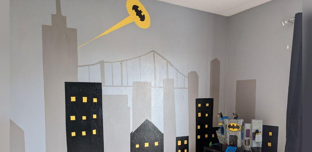 چگونه با کمترین هزینه اتاق خواب کودک را به تم بتمن تزیین کنیم