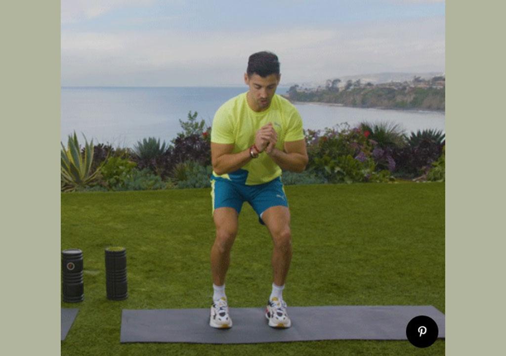 درمان درد زانو با ورزش