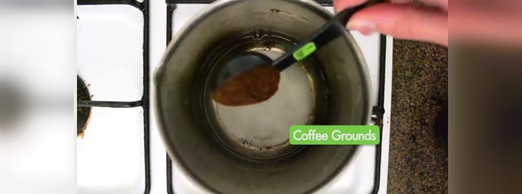 درست کردن قهوه با استفاده از ماهی تابه