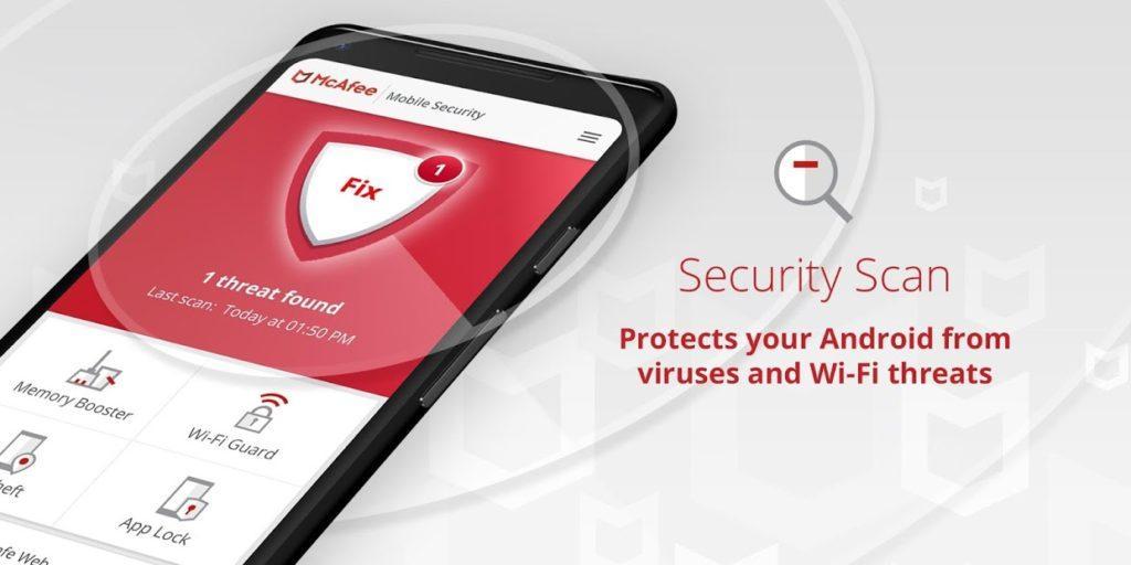 دانلود آنتی ویروس موبایل McAfee