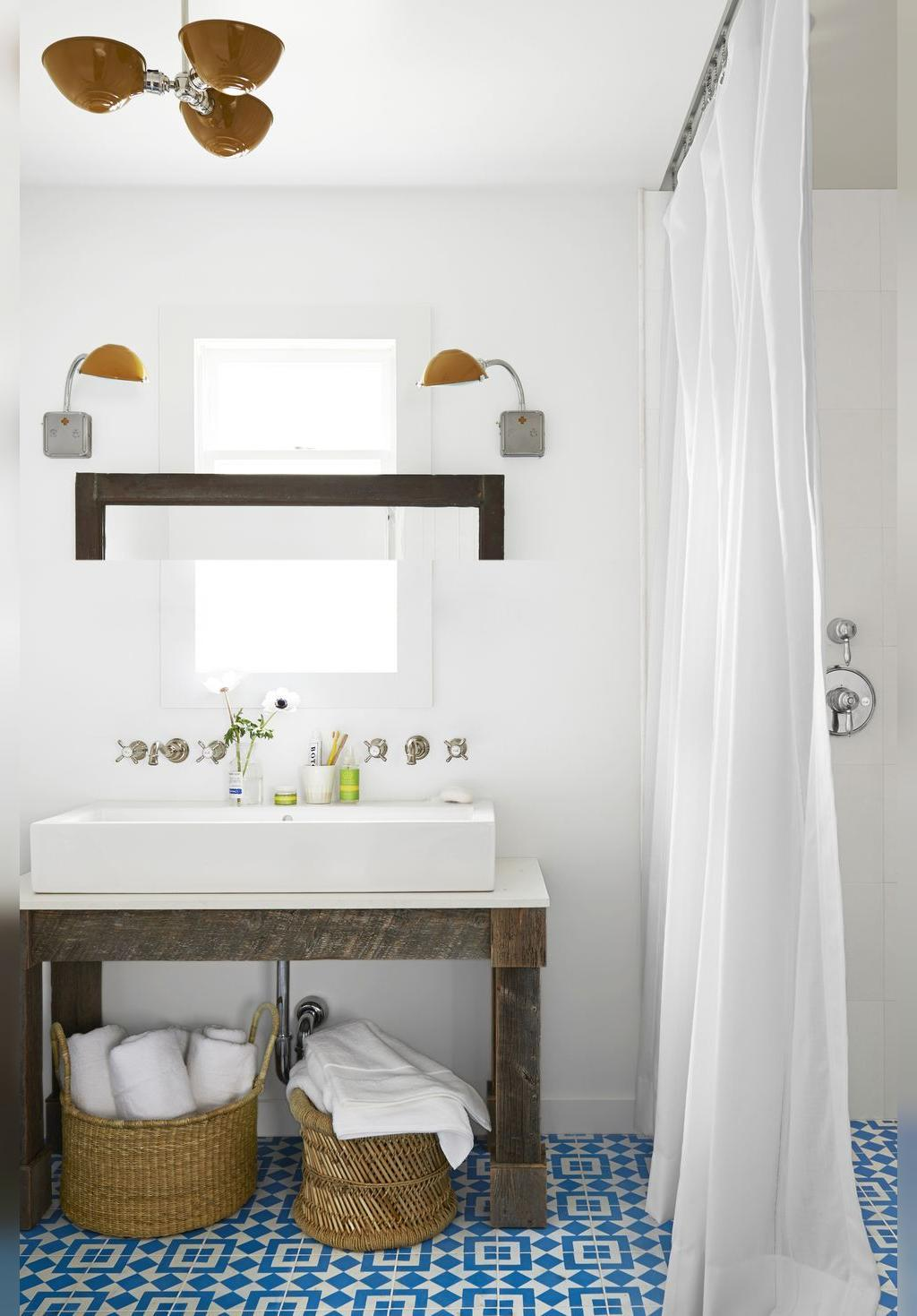 ترفندهای استفاده بهینه از فضای کوچک حمام