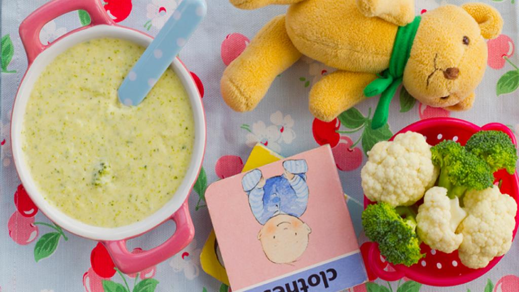 طرز تهیه پوره گل کلم برای نوزاد خوشمزه و مقوی با شیر