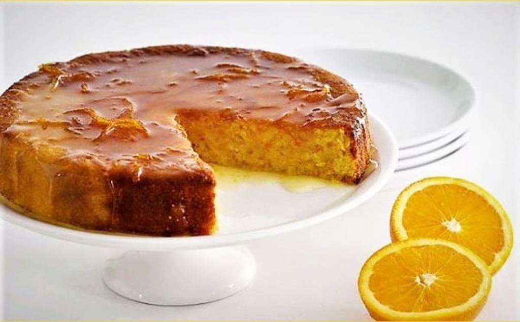 طرز تهیه کیک پرتقالی خیس خانگی