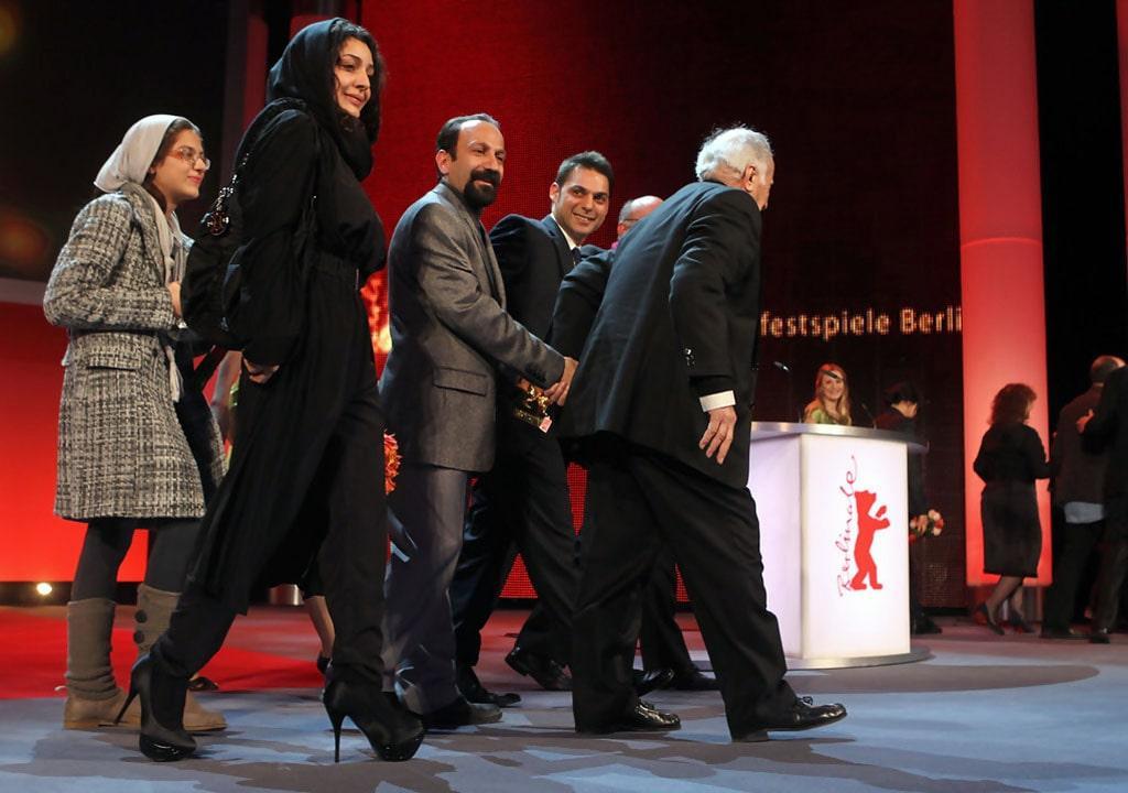 ساره بیات در خرس طلایی