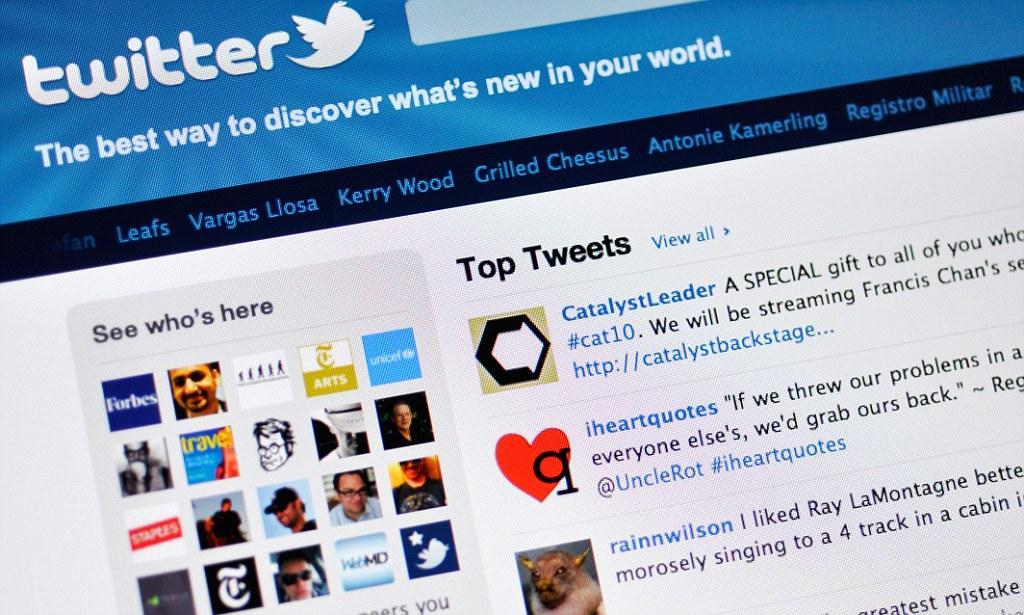 اصطلاح Promoted Tweets