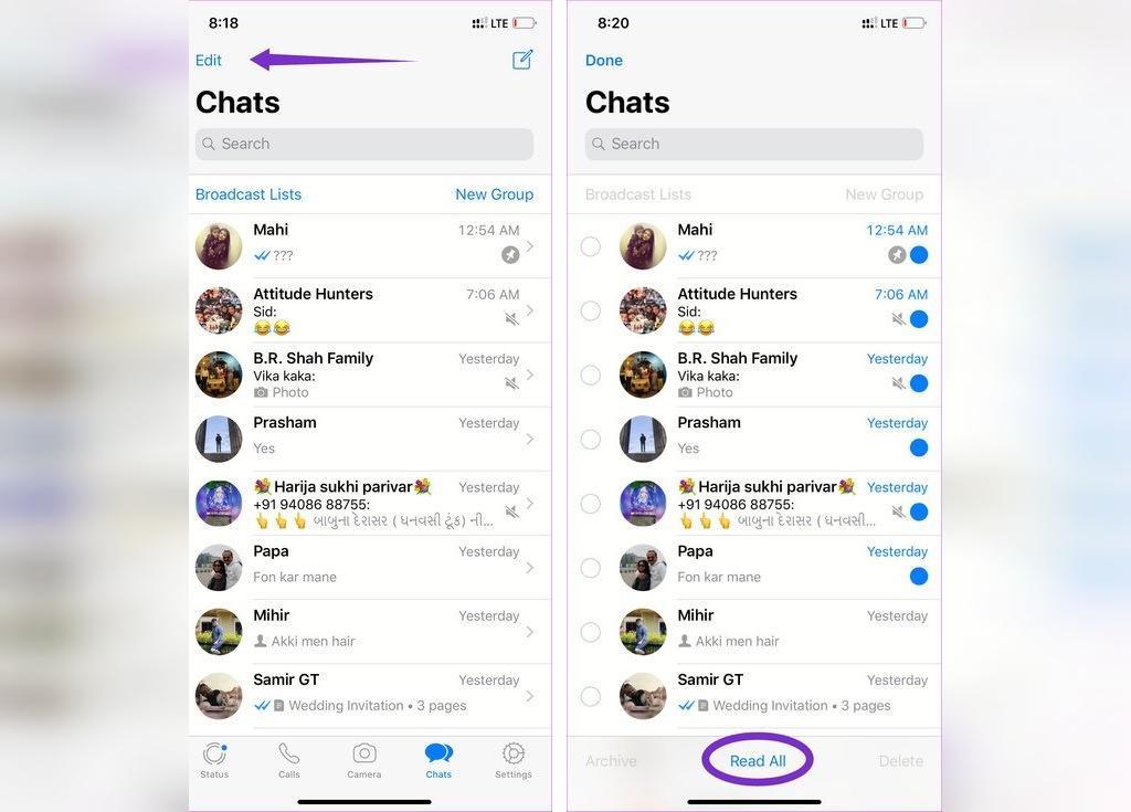 برترین ترفندهای واتس آپ برای iOS