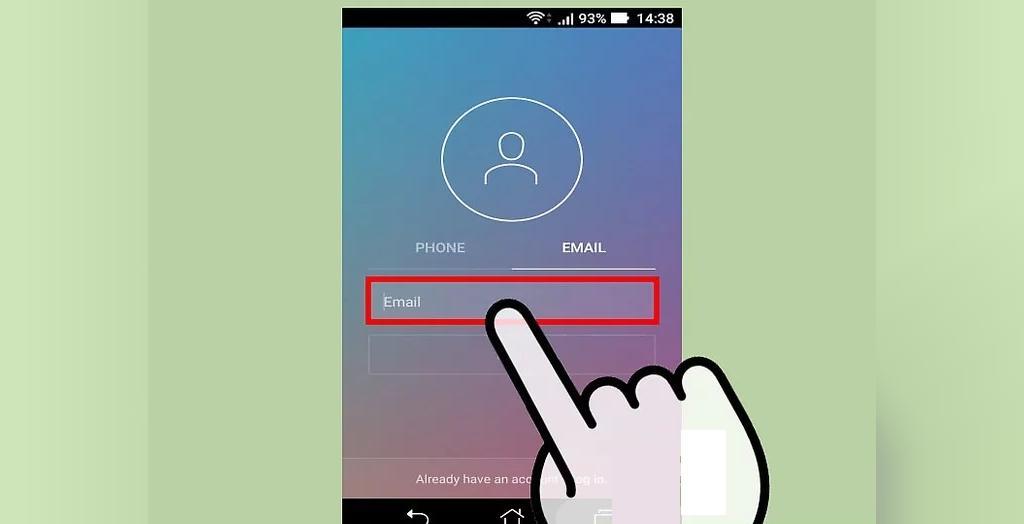 درست کردن حساب کاربری اینستاگرام