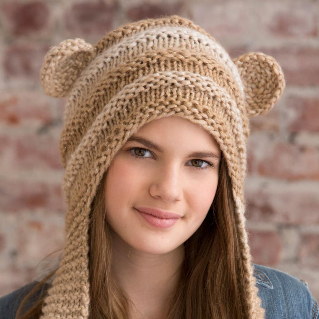 مدل کلاه بافتنی دخترانه فانتزی