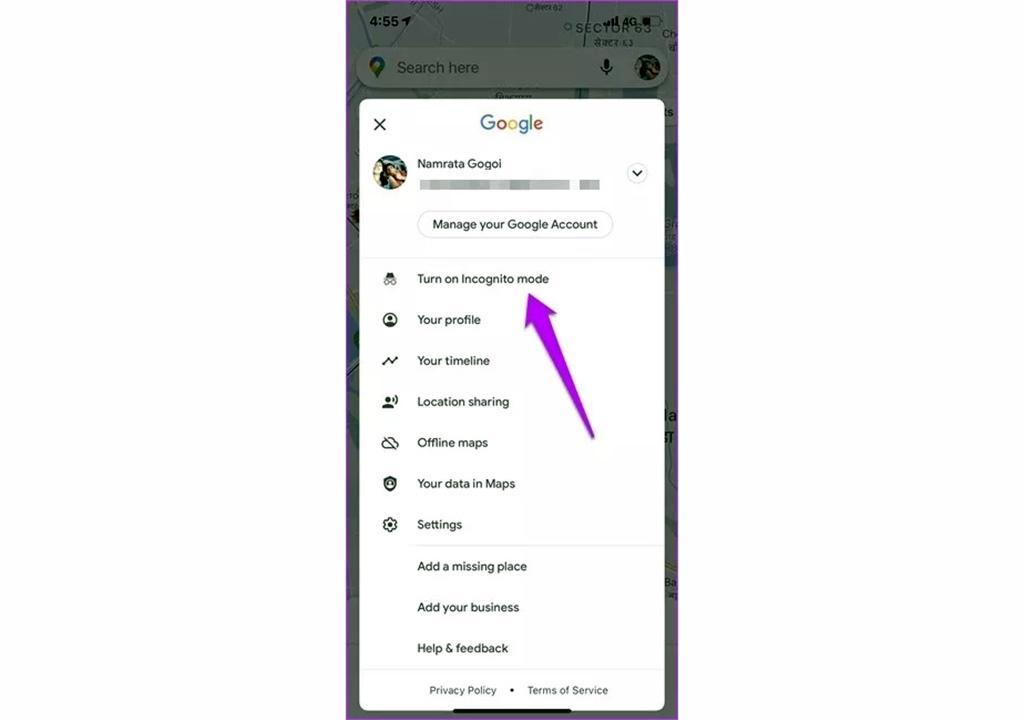 ترفند ناشناس ماندن در گوگل مپ