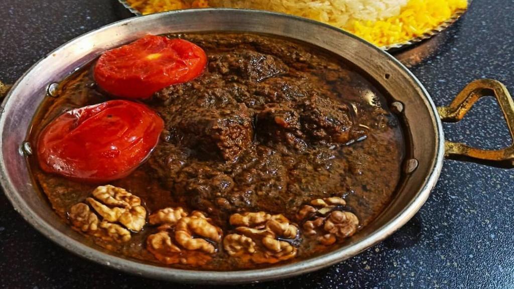طرز تهیه خورش گمج کباب رشتی خوشمزه رستورانی به سبک گیلانی