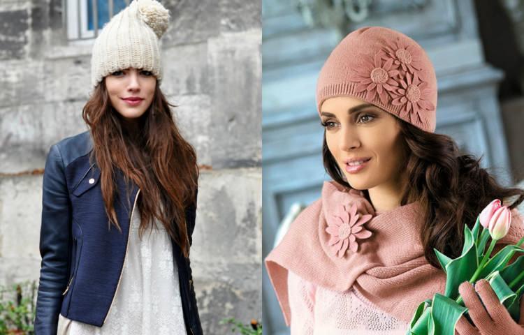 مدل کلاه بافتنی دخترانه زیبا و شیک جدید
