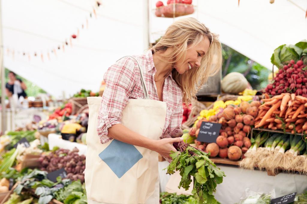 مواد غذایی ارگانیک و غیر ارگانیک