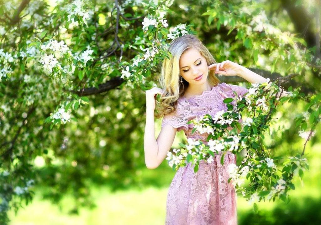 عکس قشنگ بهاری برای پروفایل دخترانه