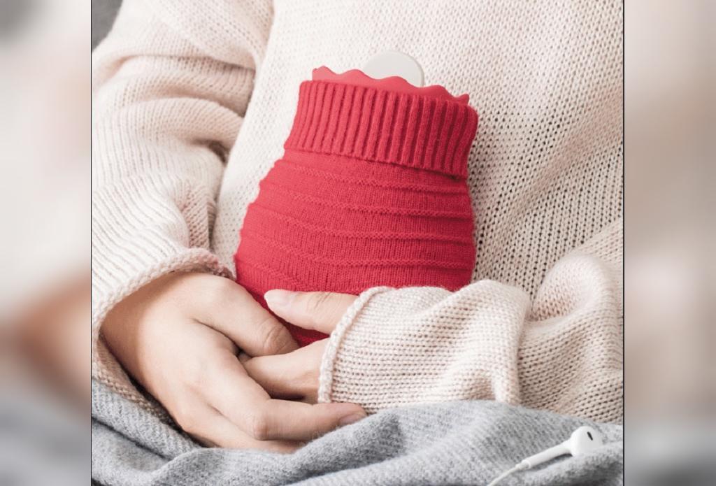 درمان خانگی سوء هاضمه با کیسه آب گرم