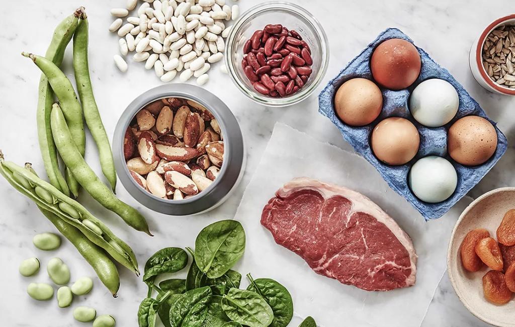 مواد غذایی مفید برای درمان کم خونی ماکروسیتیک
