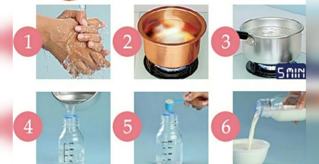 روش آماده سازی شیر خشک