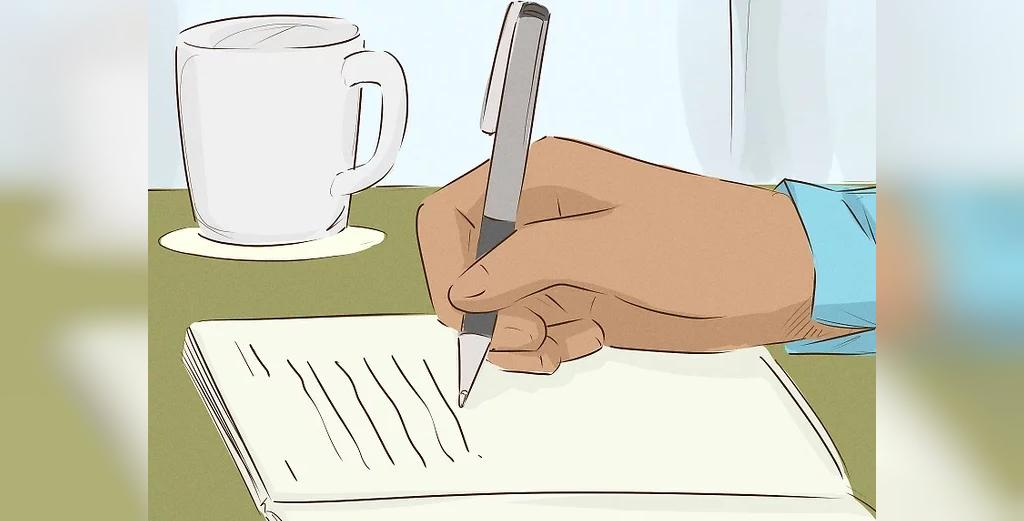 یادداشت کردن افکار برای غلبه بر خیانت عاطفی