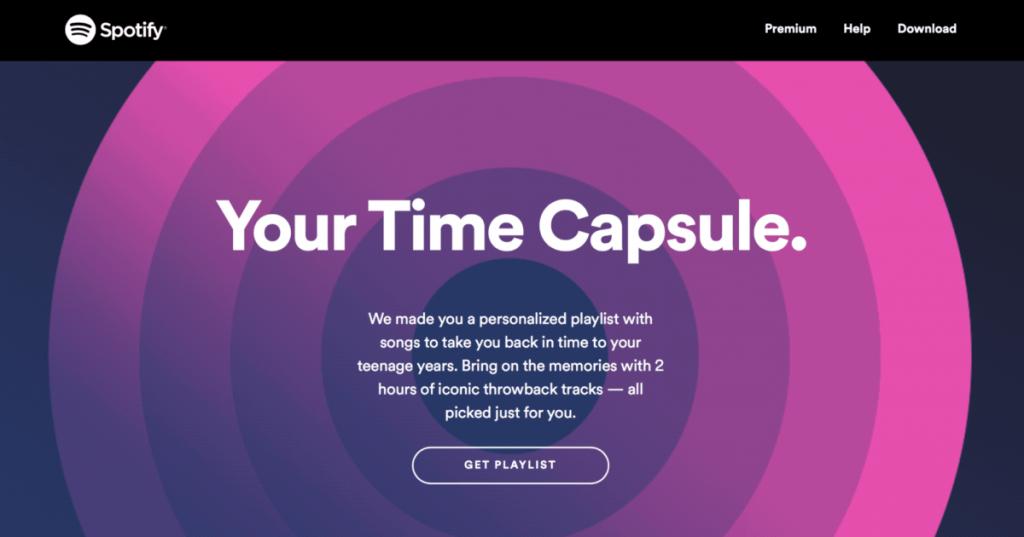 Spotify Time Capsule چیست
