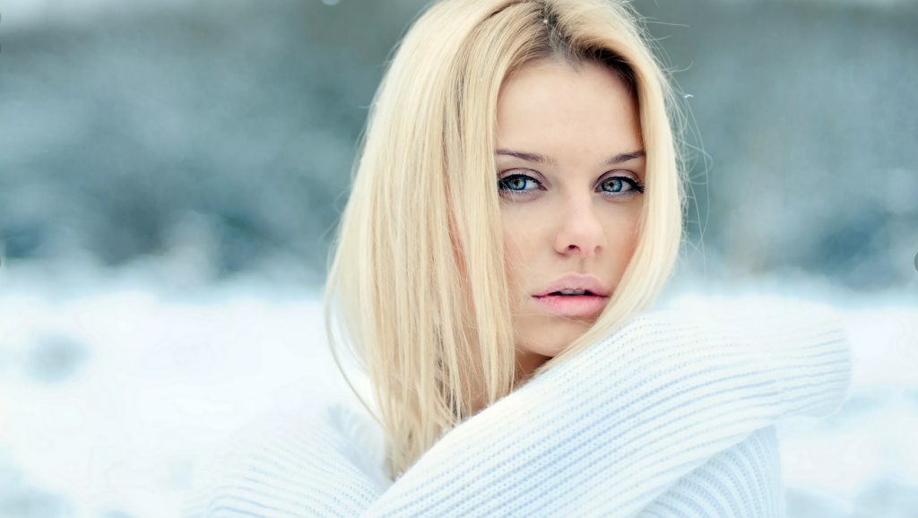 عکس زمستانی دخترانه جدید برای پروفایل
