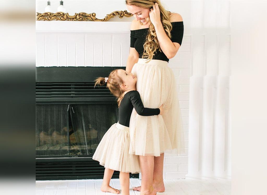 ست لباس مادر و دختر دو تکه